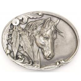 """Αγκράφα για Ζώνη """"Horse & Feathers"""""""