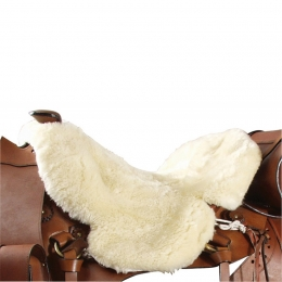 Lambskin Western Saddle Cover