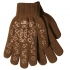 Elasticated Gloves with print