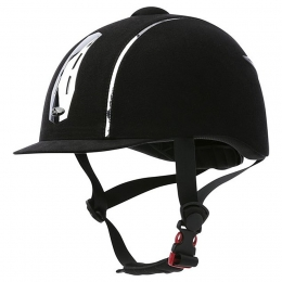 "CHOPLIN ""Aero Chrome"" Adjustable Helmet"