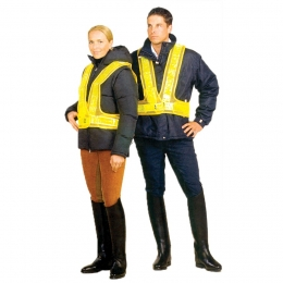 "Safety vest with ""Blinkis"""