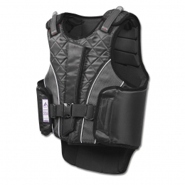 Bodyprotector P11 flexible with zipper, for children