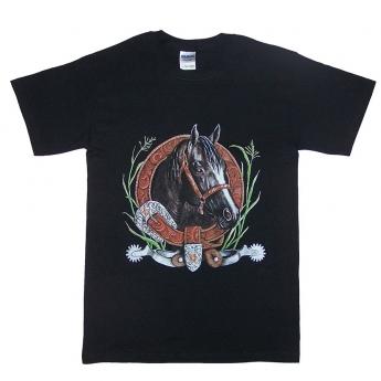 Horsehead & Spurs T-shirt