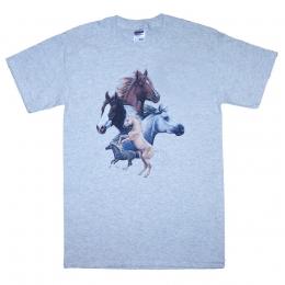 5 Horses T-shirt