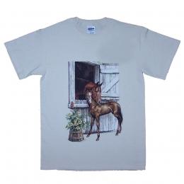 Mare & Foal Barn T-shirt