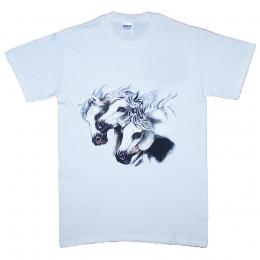 3 Horseheads T-shirt