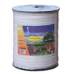Tape for electric fence