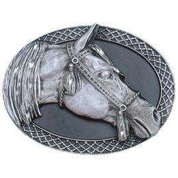 "Belt Buckle ""Arabian Horsehead"""