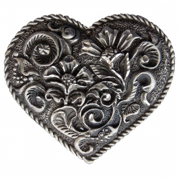 "Belt Buckle ""Heart"""