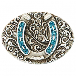 "Belt Buckle ""Horseshoe"""