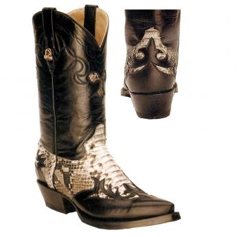 """""""El Canello"""" Western Boots Python"""