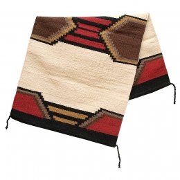 "Wool Saddle Blanket ""Texas"""