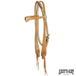 """Χαλινό Western ARGY'S ART """"V-tool"""""""