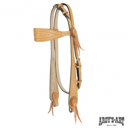 "Western Headstall ARGY'S ART ""Wide"""