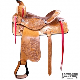 "Western Saddle ""Classical Colour"""