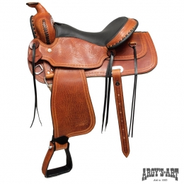 "Western Saddle ""Waxy"""