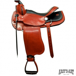 "Western Saddle ""Rubin"", Argy's Art"