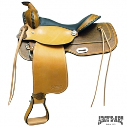 "Western Saddle ""Dakar"""