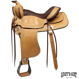 "Western Saddle ""Psatha"""