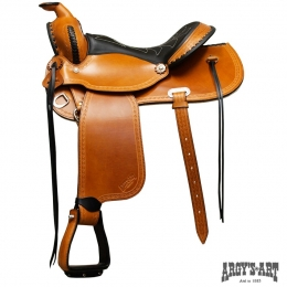 "Western Saddle ""Butterfly"""