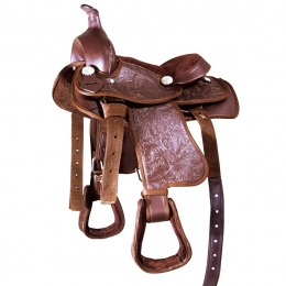 Synthetic Western Saddle for Shetland Ponies