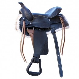 "Western Saddle ""Pony Plus"""
