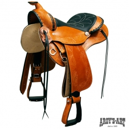 "Argy's Art Saddle ""Trail Force"""