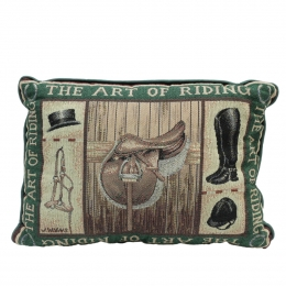 "Pillow ""Art of Riding"""