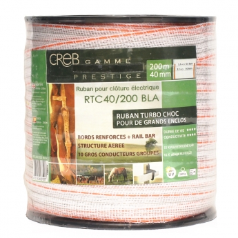 Electric Fence Wide Tape Turbo