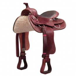 Western Saddle & Breastplate