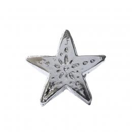 "Metal Decorative ""Carved Star"""