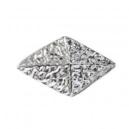 "Metal Decorative ""Textured Rhombus"""