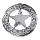 """Metal Decorative """"Star in a Circle Large"""""""