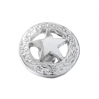 """Metal Decorative """"Star in a Circle Small"""""""