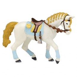 "Trendy Blue Riding Horse ""PAPO"""