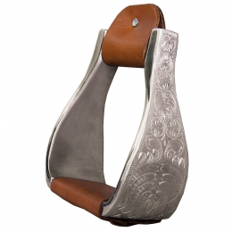 Aluminum Engraved Stirrups