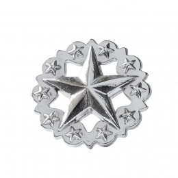 """Metal Decorative """"Star with Stars Large"""""""