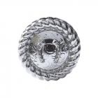 "Metal Decorative ""Round Cord Horseshoe"""