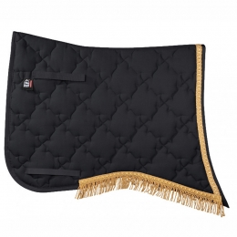 "PFIFF classical saddle cloth ""New Luxus"" with braiding"