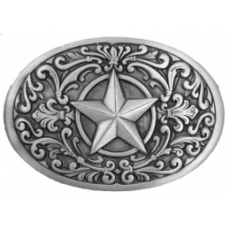 Western Star Belt Buckle