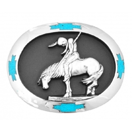 End of Trail Belt Buckle