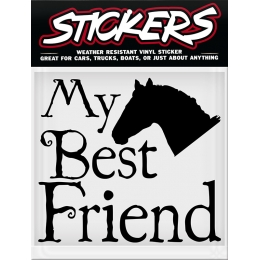"Sticker ""My Best Friend"""