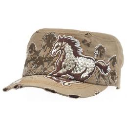 "Vintage Cap ""Rhinestones"""