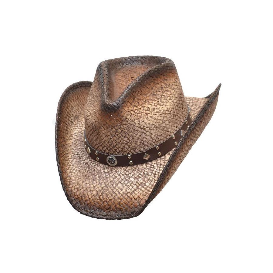 541781878a9 Dark Brown Straw Hat