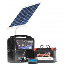 Φορητός Μηχανισμός Περίφραξης CREB 12V-4Joule Solar