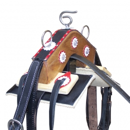 "Traditional Driving Saddle ""Argy's Art"""