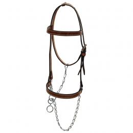 "Leather Halter ""Argy's Art"""
