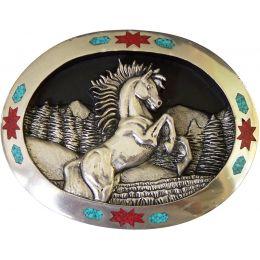"""Αγκράφα για Ζώνη """"Horse"""""""