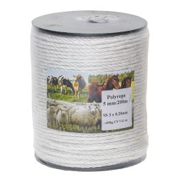 Electric Fence Rope 5mm