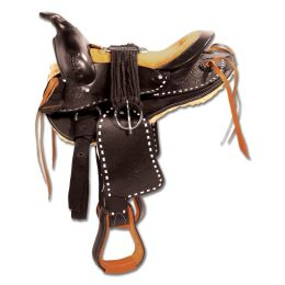 "Western Saddle ""Bonanza"""